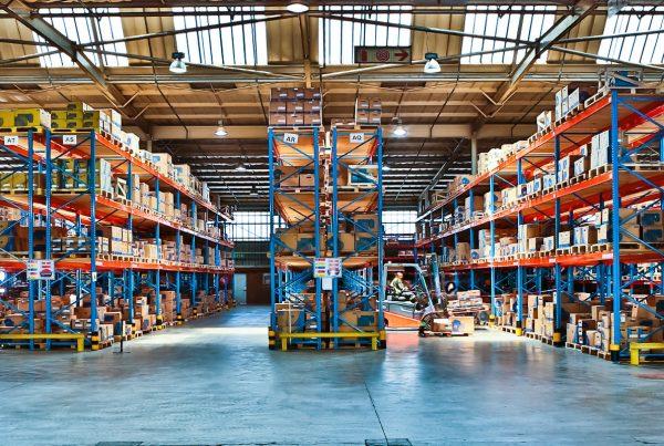 Storelab static pallet rack warehouse
