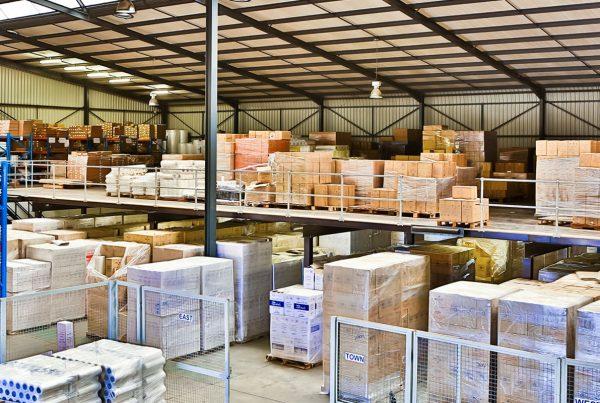Storelab mezzanine floor packing