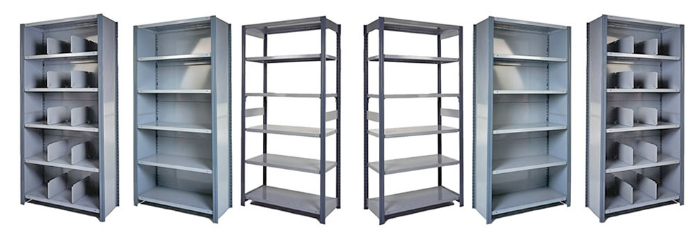 Storelab bolted shelving