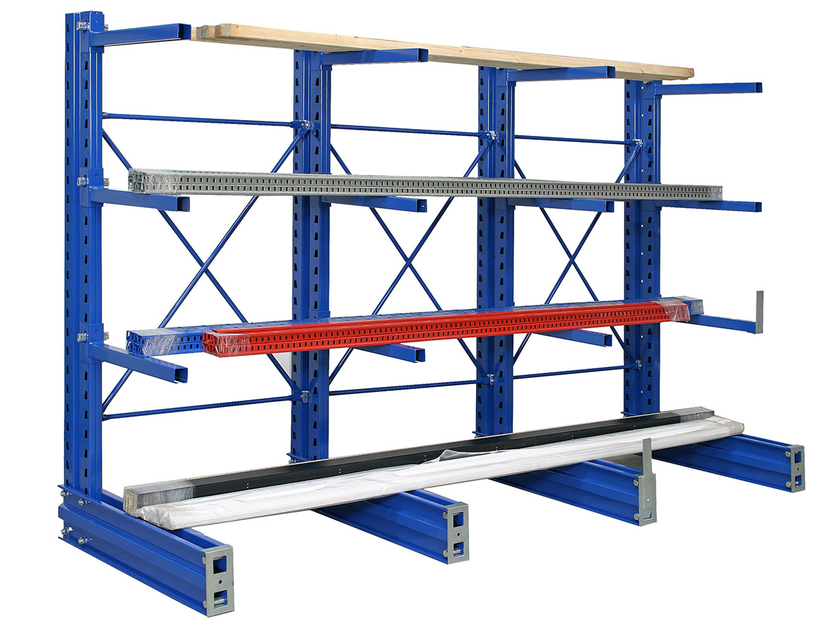 Storelab cantilever racking