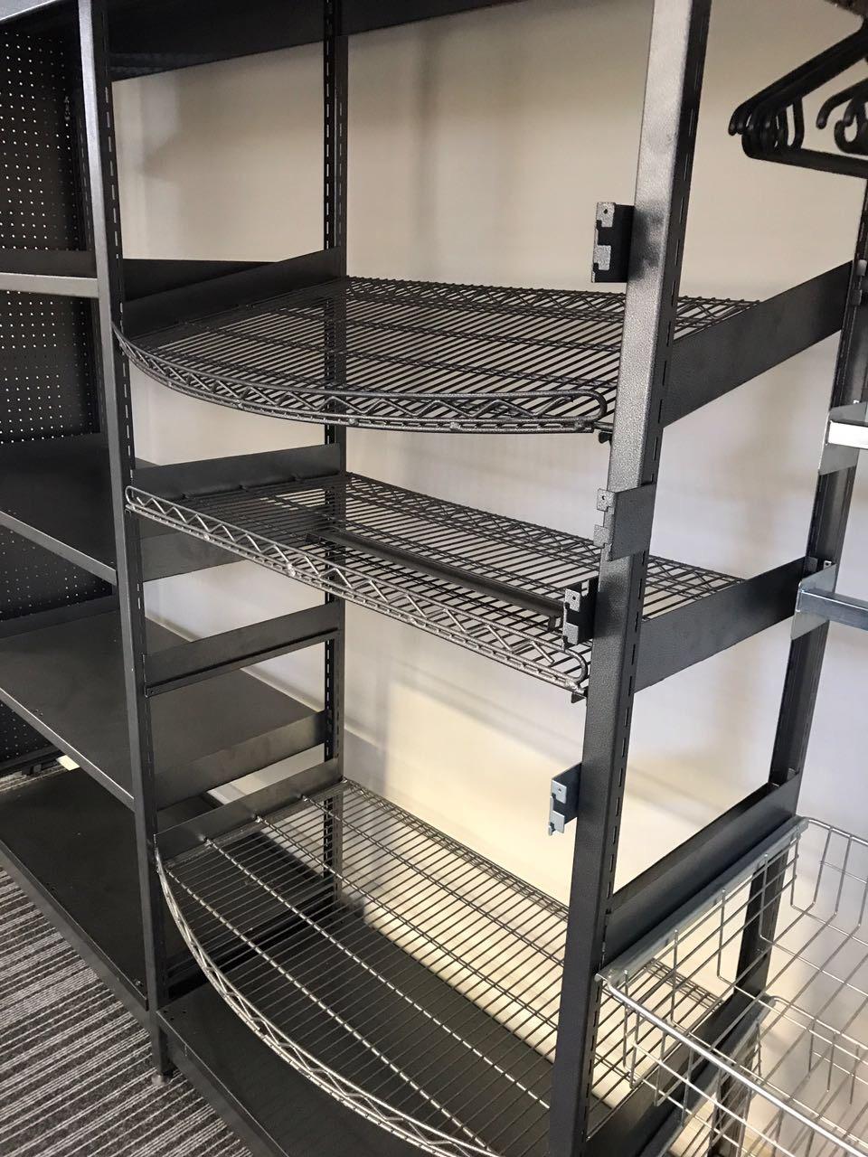 Storelab gondola wire shelving